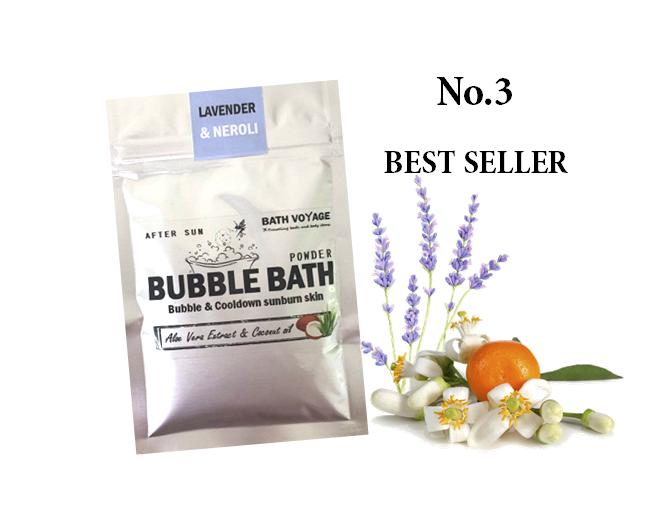 Lavender&Neroli After sun Bubble bath powder
