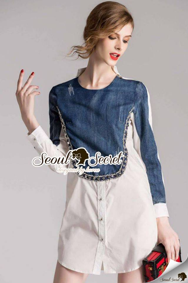 Nifty Denim Cotton Shirt Fuse