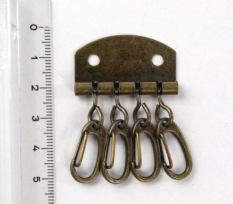 ชุดขอเกี่ยว สำหรับทำกระเป๋ากุญแจ สีเหลืองปัด