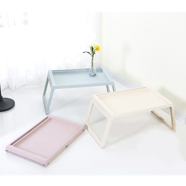 โต๊ะพับ โต๊ะอเนกประสงค์พับเก็บได้ ขนาดพกพา ทรงสี่เหลี่ยมผืนผ้า ขาพับเก็บได้
