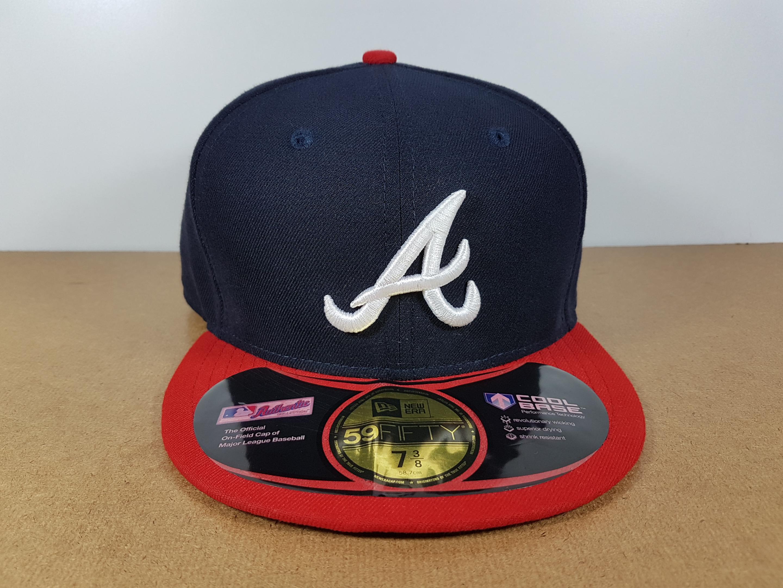 New Era MLB ทีม Atlanta Braves ไซส์ 7 3/8 แต่วัดได้ ( 59.6cm )