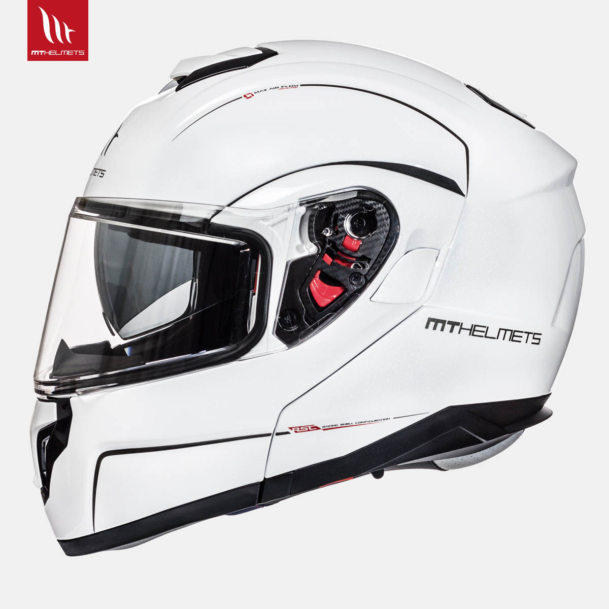 MT Atom Solid Gloss Pearl White