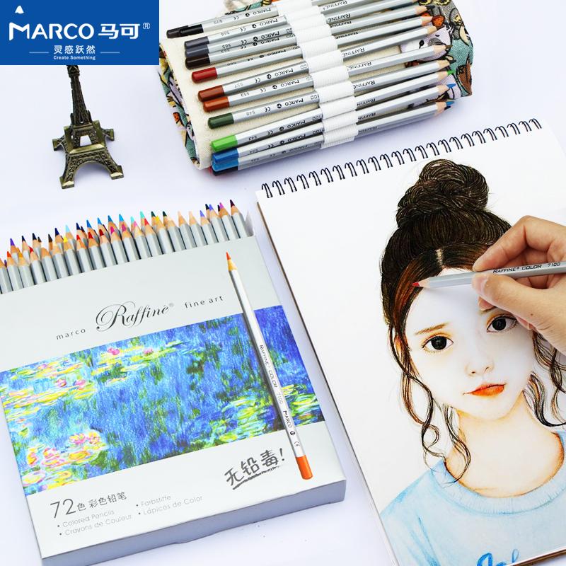 สีไม้ Marco Raffine 72 สี รุ่น 7100 fine art เกรด Professional กล่องกระดาษ (พร้อมส่ง)