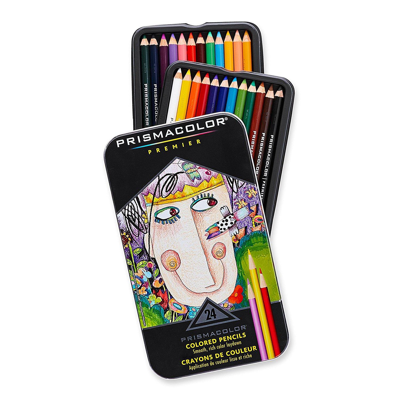 สีไม้ Prismacolor Premier Soft 24 สี (พร้อมส่ง)