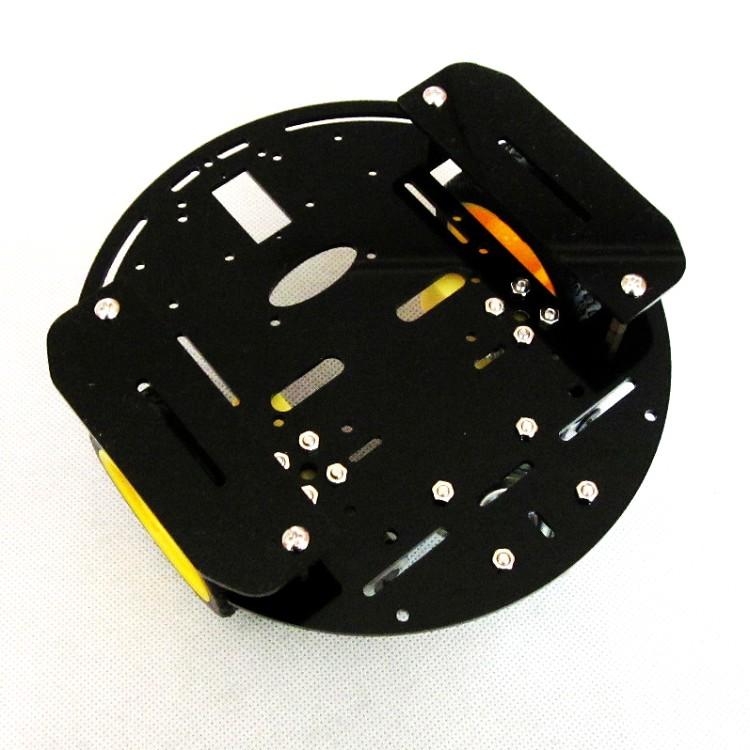 ชุดคิท ประกอบหุ่นยนต์ 2WD smart car robot kit (สีดำ)