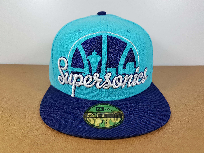 New Era NBA ทีม Seattle Supersonic ไซส์ 7 1/4 แต่วัดได้ ( 58cm )