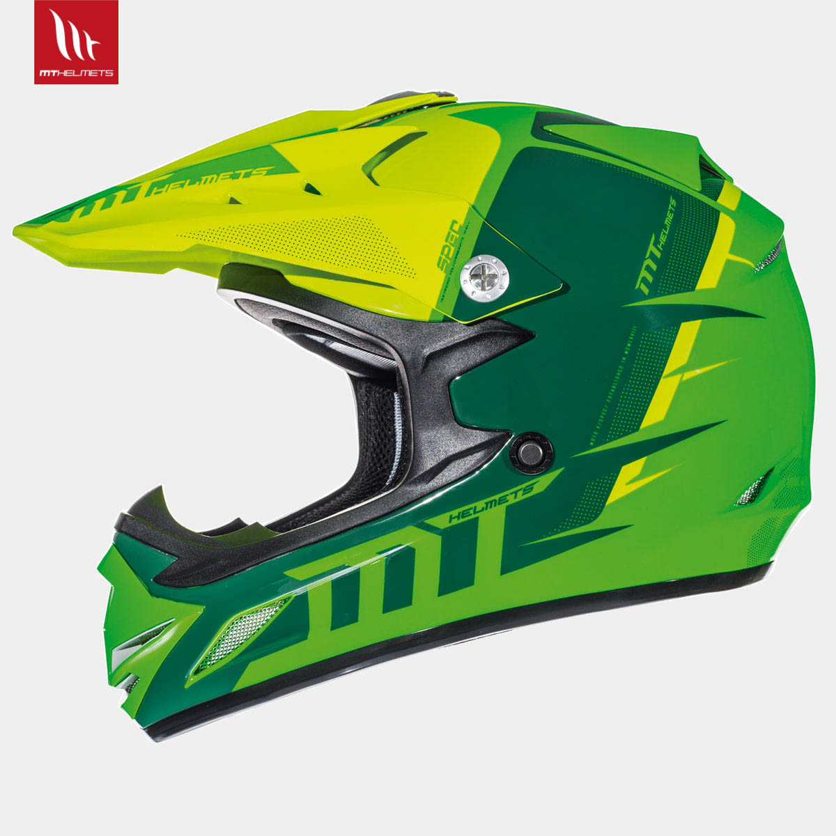 MT Synchrony Spec Gloss Fluor Green/Fluor Yellow