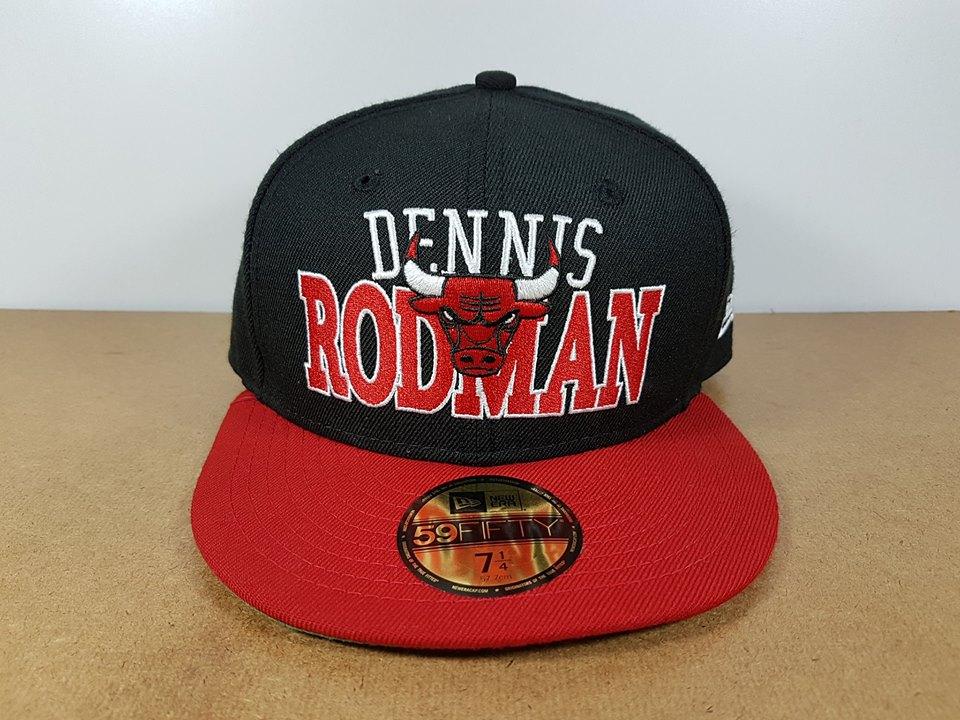 New Era NBA ทีม Chicago Bulls Dennis Rodman ไซส์ 7 1/4 วัดได้ (58cm)