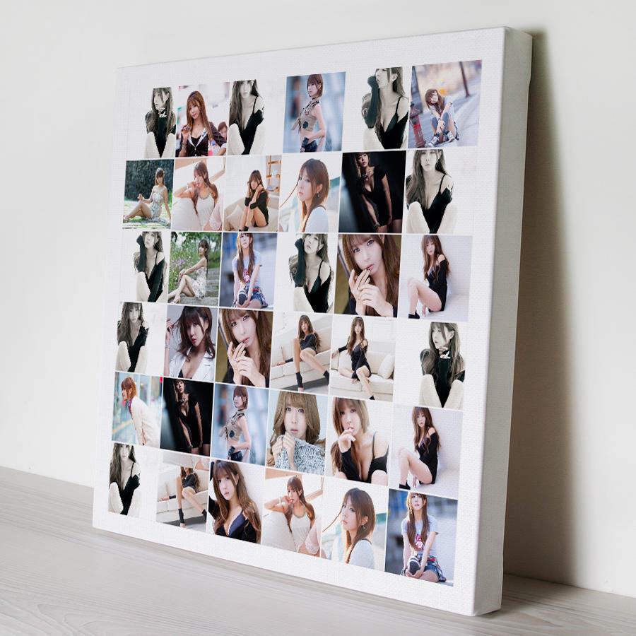 กรอบลอยแคนวาส Photo Collage 36 รูป คลิ๊ก!