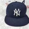 New Era MLB ทีม NY Yankees สีกรม ไซส์ 7 1/4 วัดได้ 58cm