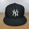 New Era MLB ทีม NY Yankees ดำปักขาว 🎃ไซส์ 7 1/2 ( 59.6cm )