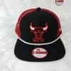 New Era NBA ทีม Chicago Bulls ทรง Trucker ฟรีไซส์ Snapback