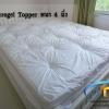 Microgel Topper 5 ฟุตหนา 4 นิ้ว กันไรฝุ่น