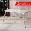 CASSA โต๊ะอเนกประสงค์สไตล์โมเดิร์น ทรงสี่เหลี่ยมผืนผ้า ขนาด 60x120 cm.