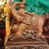 ช้างมงคลนำก้อนท้อง
