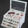 CASSA Accessories Box กล่องใส่เครื่องประดับไม้สีขาวสไตล์ Vintage