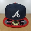 New Era MLB ทีม Atlanta Braves ไซส์ 7 5/8 (60.6cm)