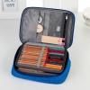 กระเป๋าใส่สีไม้ และอุปกรณ์ ช่องเสียบ 72 แท่ง ถอดใส้แผ่นเสียบได้ ขยายช่องได้ (พร้อมส่ง)