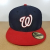 New Era MLB ทีม Washington Nationals ไซส์ 7 5/8 (60.6cm)