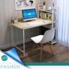 CASSA โต๊ะคอมพิวเตอร์ พร้อมชั้นวางหนังสือ (สีลายไม้อ่อน) ขนาด120X60cm. รุ่น 219-H120X60CM-YW