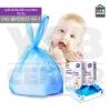 CASSA ถุงเก็บผ้าอ้อม ถุงเก็บสิ่งปฏิกูลเด็กทารก ถุงขยะสำหรับทารก (แบบกล่อง 90 ชิ้น) รุ่น P42-BB103037-90-1