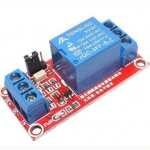 1 ch 5V relay module with optocoupler isolation support high and low trigger