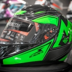 MT Revenge Falcon Gloss Black-Fluor Green