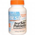 Doctor's Best, Saw Palmetto Extract, 320 มิลลิกรัม, 180 เม็ด