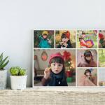 กรอบลอยแคนวาส Photo Collage 9 รูป แบบผืนผ้า คลิ๊ก!