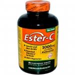 American Health, Ester-C, วิตามินซี 1000 มิลลิกรัม, 180 เม็ด