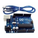 Arduino UNO R3 compatible พร้อมสาย USB ยาว 30 cm