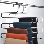 CASSA ชุด SET 4ชิ้น ไม้แขวนกางเกง แบบประหยัดพื้นที่ ภายในตู้เสื้อผ้า