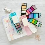 สีน้ำ Superior Portable Watercolour Kits 18 สี Pastel Series พร้อมพู่กันแทงค์