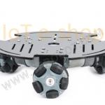 ชุดคิทประกอบหุ่นยนต์ 3WD ล้อ Omni 58 mm (3WD Omni Wheel Robot)