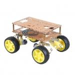 ชุดคิทหุ่นยนต์ ขับเคลื่อน 4 ล้อ ยกสูง ( 4WD smart car robot )
