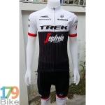 ชุดจักรยานแขนสั้น Terk2016 สีดำขาว
