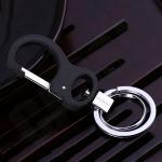 JOBON พวงกุญแจ เกรดพรีเมี่ยม 2 ห่วงคู่ สวยหรูสไตล์ Loft