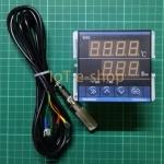 เครื่องควบคุม TDK0302LA + เซ็นเซอร์วัดอุณหภูมิและความชื้น (กันละอองน้ำ/ฝุ่น)