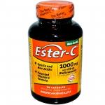 American Health, Ester-C, วิตามินซี 1000 มิลลิกรัม, 90 เม็ด