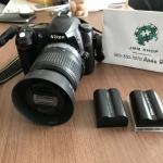 JMM - 147 ขายกล้องมือสอง Nikon D50 มาพร้อมเลนส์ 18- 55 mm