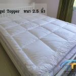 Microgel Topper 5 ฟุตหนา 2.5 นิ้ว กันไรฝุ่น