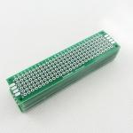 PCB อเนกประสงค์ 2 หน้า เขียว 2x8 cm