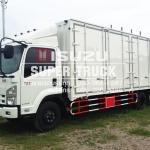ISUZU FRR 210 แบบตู้อลูมิเนียม (ช่วงต่อยาว 6.5เมตร)