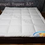 Microgel Topper 6 ฟุตหนา 2.5 นิ้ว กันไรฝุ่น