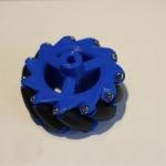 ชุดล้อ 60 mm (4ล้อ) mecanum wheel ใช้กับเกียร์มอเตอร์สีเหลือง ( tt motor )