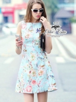 Mysterious and Elegant mini dress