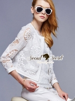 Ivory Lace Short Outer