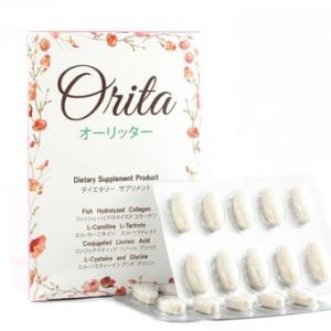 Orita โอริต้า by ปูเป้ ลดน้ำหนักและผิวใสในกล่องเดียว