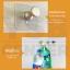 cassa ตะขอแขวนอเนกประสงค์ติดผนังแบบใส หัวตัดทรงกลม สั้น ติดผนังไม่เป็นรอย ผลิตจาก PP คุณภาพดี (แพ็ค 2 ชิ้น) thumbnail 6