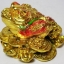 คางคกมงคลคาบเงินคาบทองฐานเหรียญทอง คาบเงินคาบทอง อวยพรโชคลาภ thumbnail 1